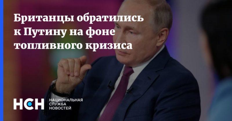 Общество: Британцы обратились к Путину на фоне топливного кризиса