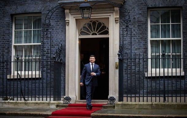 Общество: Запланирован визит Зеленского в Британию