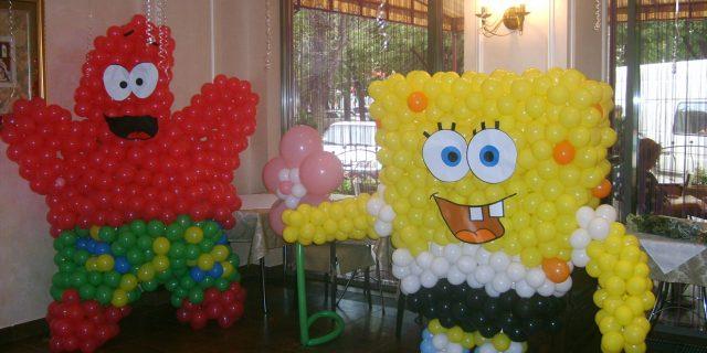 Эксклюзивные фигуры из воздушных шариков для детей и взрослых.