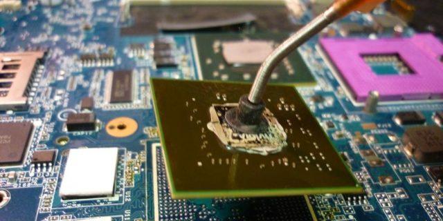 Ремонт компьютеров ,ребоулинг и замена видео чипов