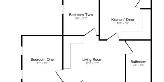 Maidstone, Kent (ME16) - 2-х комнатная квартира